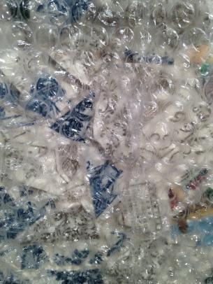 bubblewraped china