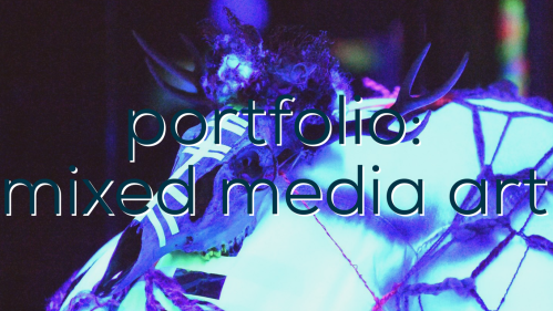 portfolion mixed media art image